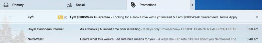 Gmail Ad