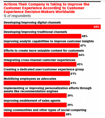 customer experience decision makers worldwide