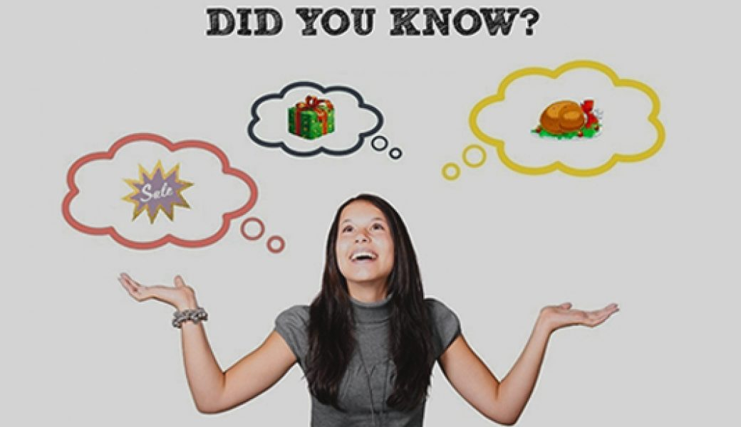 10 Interesting Facts About Thanksgiving, Black Friday, and Cyber Monday You Might Not Know