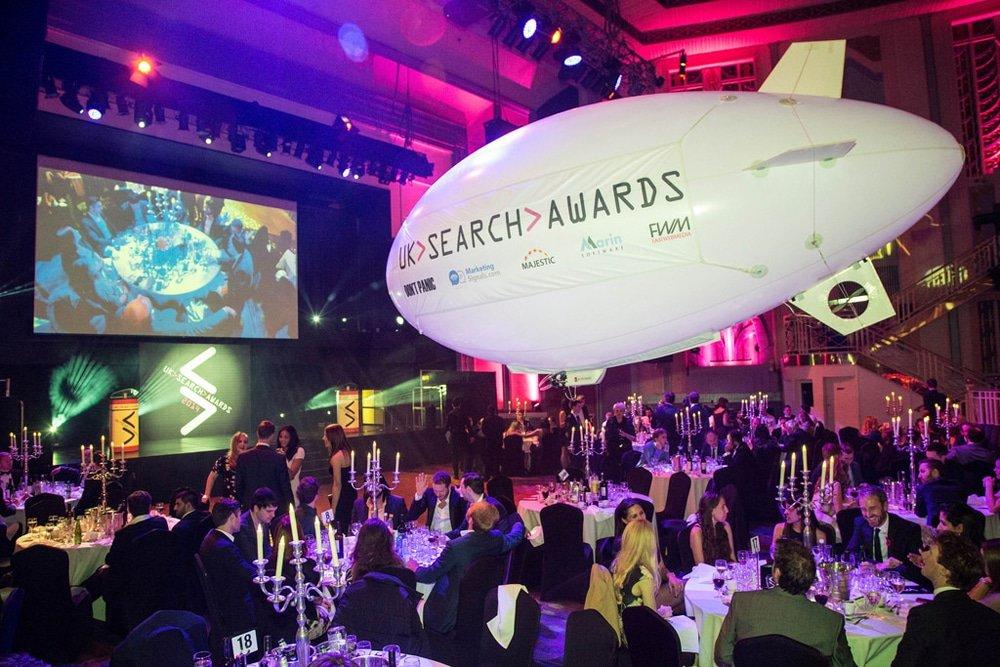 UK Search Awards in London, 30 November