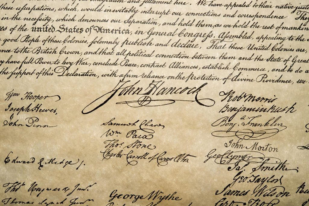 The Declaration of Independence Was not Signed on July 4