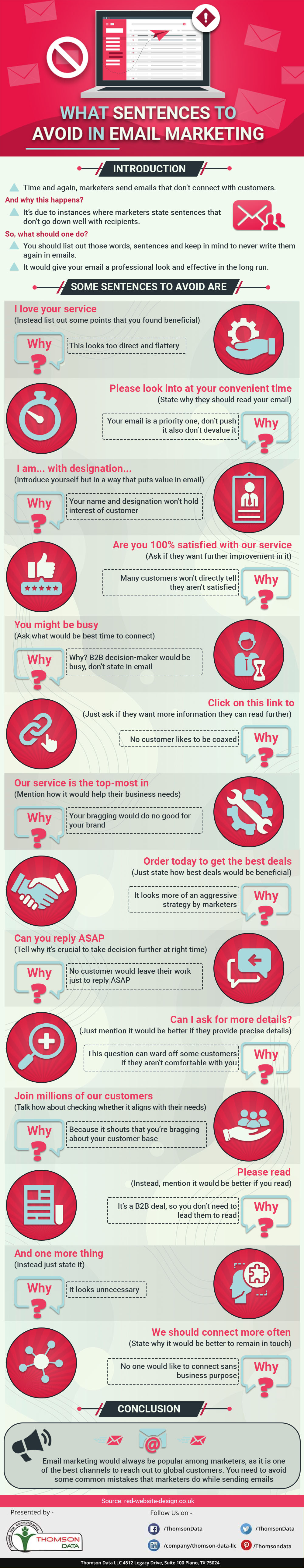 What Sentences to Avoid in Email Marketing?