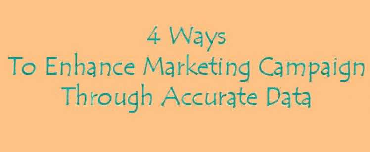 Enhance Marketing Campaign