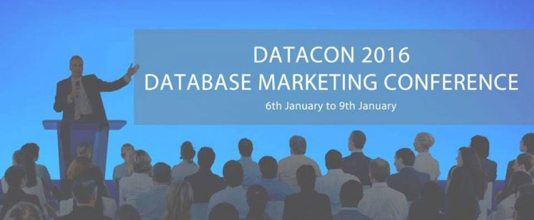DataCon 2016 – A Database Marketing Conference