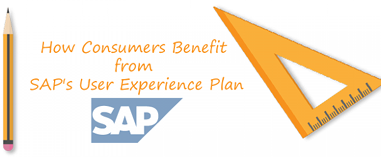 Consumers Benefit SAP User Experience Plan