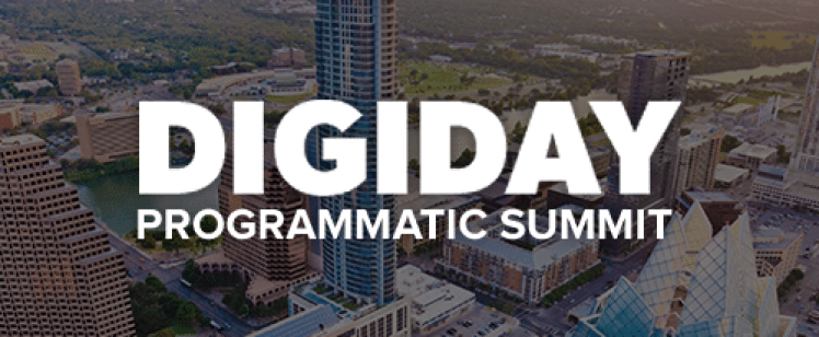Digiday Programmatic Summit 2016 at Palm Beach, FL