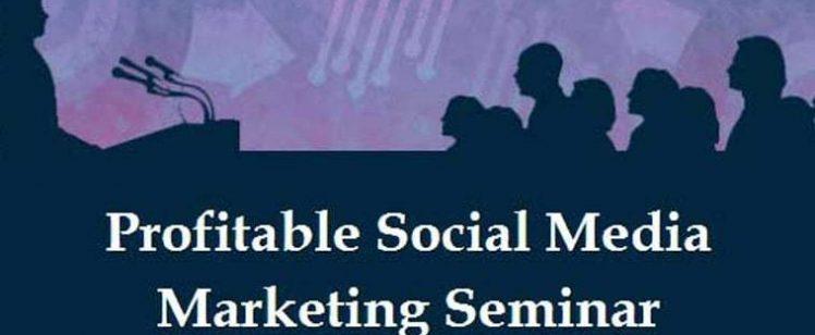 Social Media Marketing Seminar by National Seminars Training