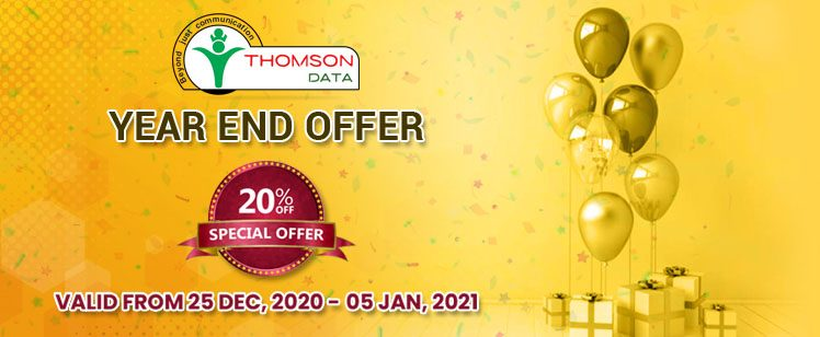 Year-End Deal: Thomson Data Announces its Best Year-end offer