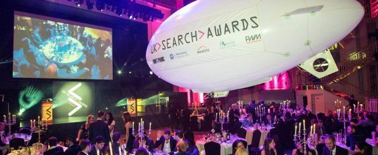 UK Search Awards 2016 in London, 30 November